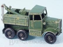 Brinquedos Antigos - Matchbox - Scammel Breakdown Truck Black Plastic Regular Wheels