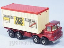 Brinquedos Antigos - Matchbox - Scammell Container Truck Super Kings