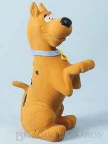 Brinquedos Antigos - Floc - ScoobyDoo com Apito 14,00 cm de altura Hanna Barbera Ano 1988