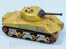 1. Brinquedos antigos - Matchbox - Sherman Tank Battle Kings
