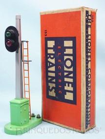 1. Brinquedos antigos - Lionel - Sinal 153 Automatic Block Signal and Control Ano 1945 a 1969