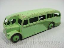 1. Brinquedos antigos - Dinky Toys - Singledeck Bus verde Ano 1940