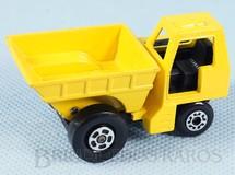 Brinquedos Antigos - Matchbox - Site Dumper Superfast caçamba amarela
