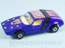 Brinquedos Antigos - Matchbox - Siva Spyder Superfast roxo