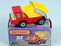Brinquedos Antigos - Matchbox - Skip Truck Superfast