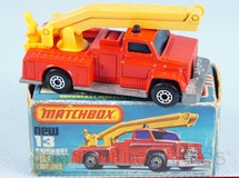 Brinquedos Antigos - Matchbox - Snorkel Fire Engine Superfast