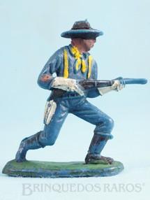 Brinquedos Antigos - Casablanca e Gulliver - Soldado da 7� Cavalaria avan�ando com rifle