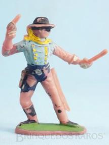 Brinquedos Antigos - Casablanca e Gulliver - Soldado da 7� Cavalaria de p� com sabre e revolver