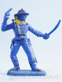Brinquedos Antigos - Casablanca e Gulliver - Soldado da 7ª Cavalaria de pé com sabre e revolver