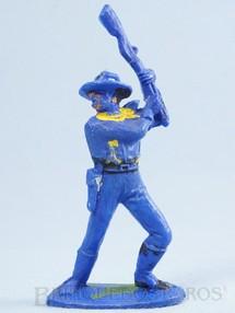 Brinquedos Antigos - Casablanca e Gulliver - Soldado da Sétima Cavalaria de pé lutando com rifle