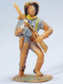 1. Brinquedos antigos - Casablanca e Gulliver - Soldado da Sétima Cavalaria marchando com rifle