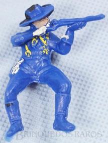 Brinquedos Antigos - Casablanca e Gulliver - Soldado da 7� Cavalaria montado a cavalo atirando com rifle