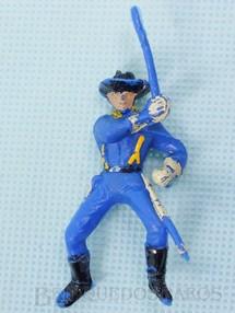 Brinquedos Antigos - Casablanca e Gulliver - Soldado da Sétima Cavalaria montado a cavalo com sabre