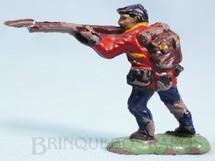 1. Brinquedos antigos - Fanabri - Soldado do Exército Paraguaio atirando com fuzil Batalha do Tuiutí Década de 1960