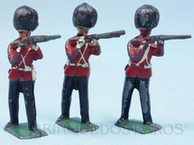 1. Brinquedos antigos - Sem identificação - Soldado Inglês Scots Guard de pé atirando com Fuzil Preço por unidade