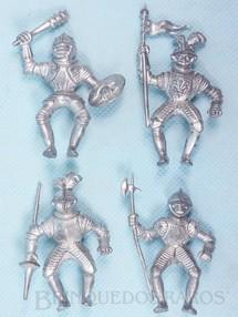 1. Brinquedos antigos - Jean Hoefler - Soldados Medievais montados à cavalo Preço por unidade Década de 1970
