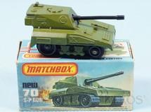 Brinquedos Antigos - Matchbox - SP Gun Rola-Matics esteira preta