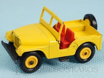 Brinquedos Antigos - Matchbox - Standard Jeep Black plastic tires