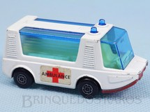 Brinquedos Antigos - Matchbox - Stretcha Fetcha Ambulance Superfast