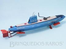 1. Brinquedos antigos - Marusan Toys - Submarino Nautilus com 32,00 cm de comprimento Década de 1960