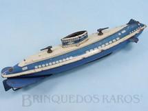 1. Brinquedos antigos - Wolverine - Submarino Wolverine com 33,00 cm de comprimento Ano 1942