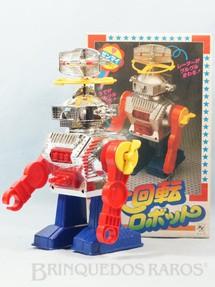 1. Brinquedos antigos - K.Y. - Super Revolution Robot com 24,00 cm de altura Década de 1980