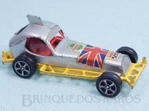 Brinquedos Antigos - Corgi Toys-Corgi Jr. - Super Stock Car amarelo Corgi Jr Whizzwheels