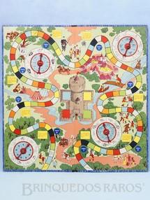 Brinquedos Antigos - Coluna - Tabuleiro do Jogo As Aventuras de Robin Hood Ano 1962