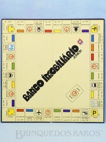 1. Brinquedos antigos - Estrela - Tabuleiro do Jogo Banco Imobiliário Junior Ano 1980