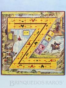 1. Brinquedos antigos - Coluna - Tabuleiro do Jogo Zorro Walt Disney Década de 1960