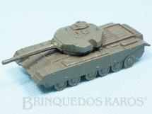 1. Brinquedos antigos - Roly Toys - Tanque de Guerra Centurion com 6,00 cm de comprimento Década de 1960