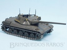 Brinquedos Antigos - Solido - Tanque de Guerra Char Blinde AMX 30T Datado 1-1965