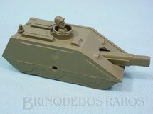 1. Brinquedos antigos - Balila - Tanque de Guerra com 12,00 cm de comprimento verde musgo Década de 1960