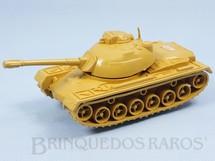 1. Brinquedos antigos - Casablanca e Gulliver - Tanque de guerra com 16,00 cm de comprimento Bege Série Forças Armadas Exército Japonês Década de 1980