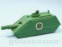1. Brinquedos antigos - Balila - Tanque de Guerra do Exército Brasileiro com 12,00 cm de comprimento Década de 1970