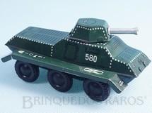 1. Brinquedos antigos - Blomer & Schüler - Tanque de guerra Panther 12,00 cm de comprimento Apresenta Torre giratória Década de 1960