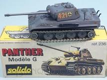 Brinquedos Antigos - Solido - Tanque de Guerra Panther G Datado 11-1973