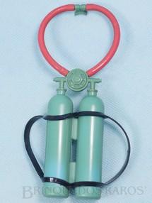 Brinquedos Antigos - Estrela - Tanque de Oxigênio Aventura Mergulho no Fundo Mar Ano 1978
