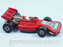 1. Brinquedos antigos - Matchbox - Team Matchbox Superfast vermelho metálico