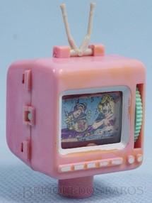 Brinquedos Antigos - Sem identificação - Televisão para colocar no lápis com 3,5 cm de altura Década de 1980