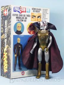 Brinquedos Antigos - Estrela - Torak o Rival do Falcon perfeito estado todo original Capa roxa Acompanha Réplica da Caixa Original edição 1982