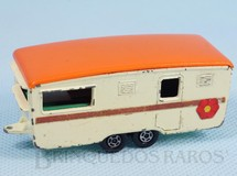1. Brinquedos antigos - Matchbox - Trailer Eccles Caravan Superfast Transitional Weels