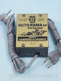 1. Brinquedos antigos - Estrela - Transformador 110 Volts Série Fittipaldi Campeão do Mundo Ano 1972