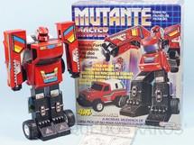 1. Brinquedos antigos - Glasslite - Transformer Mutante Master com 25,00 cm de altura Década de 1980