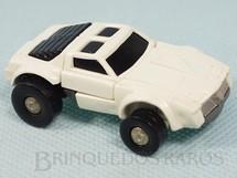 Brinquedos Antigos - Estrela - Transformers Windcharger Robocar Camaro branco com 6,00 cm de comprimento Primeira Série Ano 1985