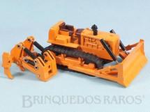 1. Brinquedos antigos - Shinsei - Trator de Esteiras com 12,00 cm de comprimento Série Mini Power Década de 1980