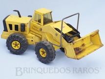1. Brinquedos antigos - Tonka - Trator Pá Carregadora Tonka Loader com 54,00 cm de comprimento Década de 1970