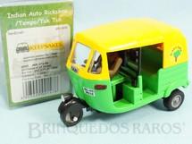 1. Brinquedos antigos - Keepsakes - Triciclo Taxi Indiano Indian Auto Rickshaw Década de 2000
