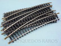 1. Brinquedos antigos - Atma - Trilho curvo normal 0215 com 164,00 mm de comprimento Década de 1970 Preço por 10 unidades