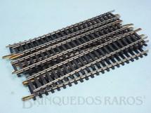 1. Brinquedos antigos - Atma - Trilho reto 0206 com 165,00 mm de comprimento Década de 1970 Preço por 10 unidades